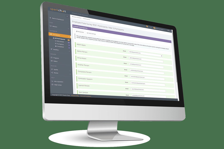 Survey Tool - Spark Chart Survey Services