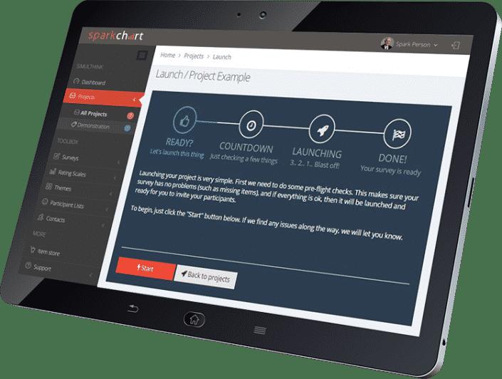Spark Chart Survey Software