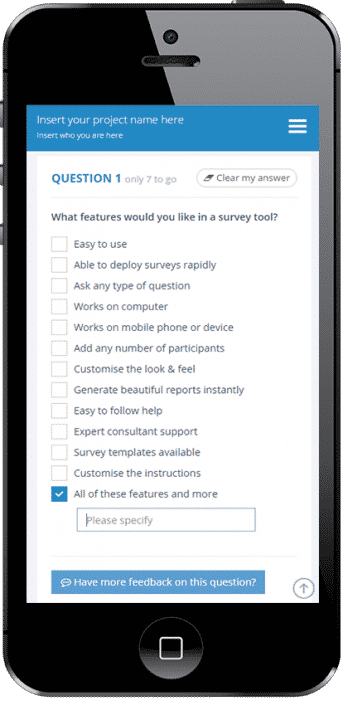 Spark Chart Survey Software