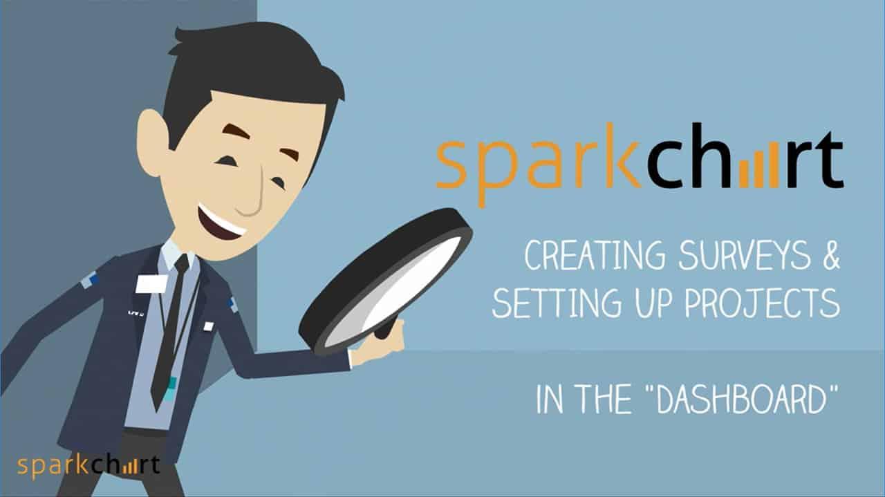 Spark Chart Survey Software Dashboard