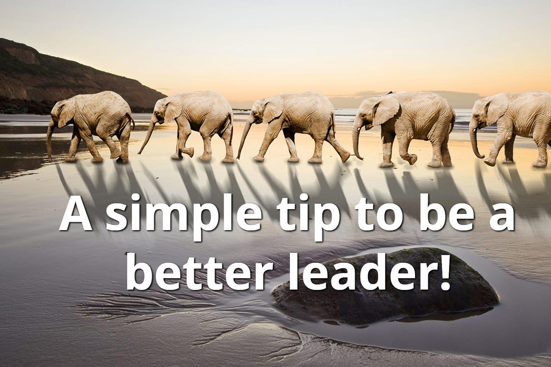 Best Leadership Tip