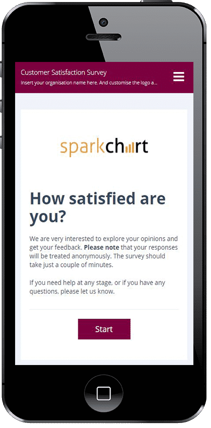 Spark Chart Mobile Survey Software