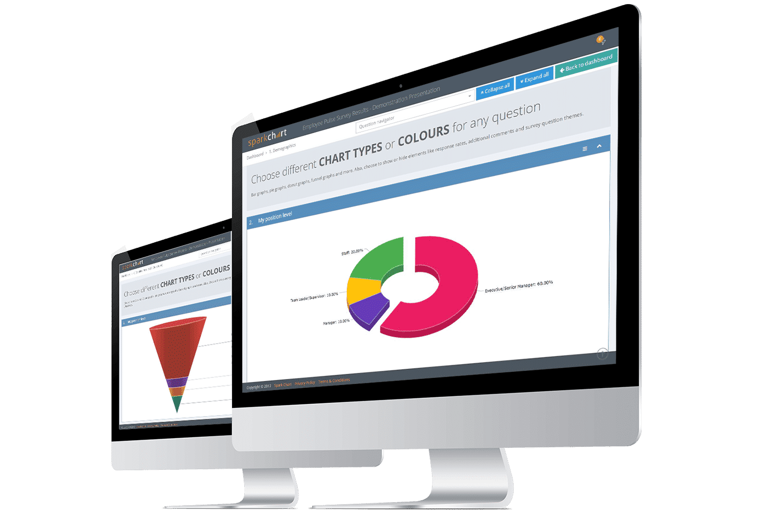 Spark Chart Survey Software Reports