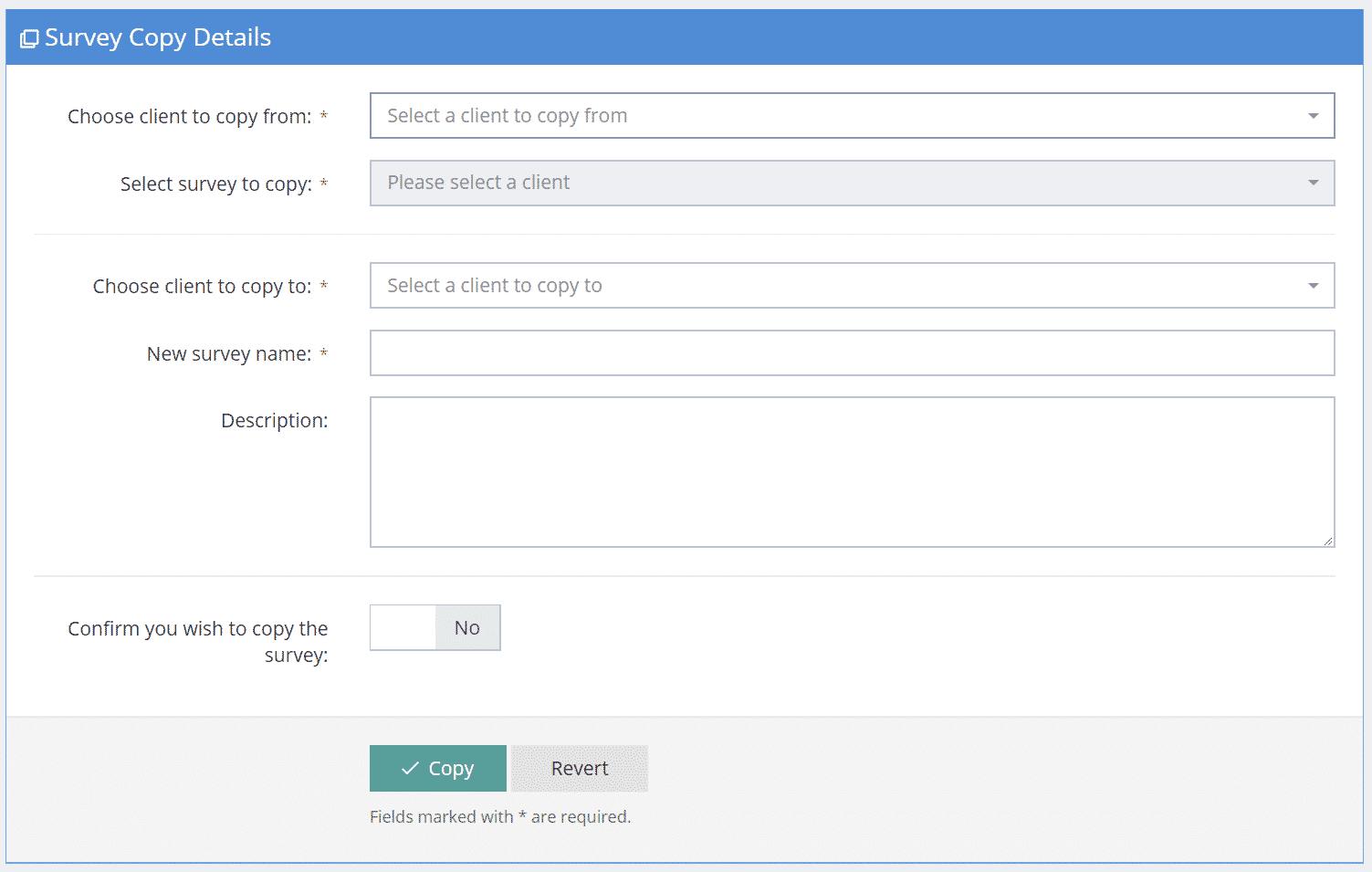 Console Survey Copy