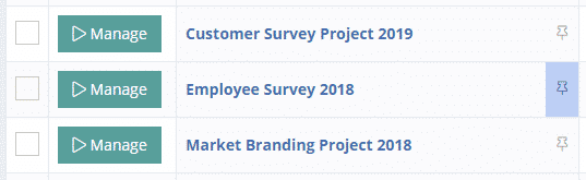 Pinned Survey Projects